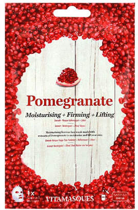 VITAMASQUES Pomegranate Moisturising; Firming and Lifting Face Mask