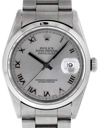 Rolex Datejust 16200 Stainless Steel Automatic 36mm Mens Watch