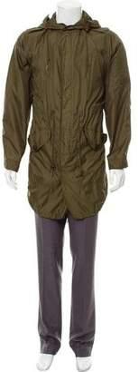 Burberry Lightweight Hooded Parka