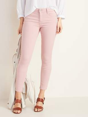 cc5749a343 Old Navy Mid-Rise Rockstar Super Skinny Pop-Color Jeans for Women