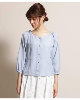 Bon mercerie (ボン メルスリー) - ボン メルスリー ガルーダツイル 肩ゴムギャザーシャツ