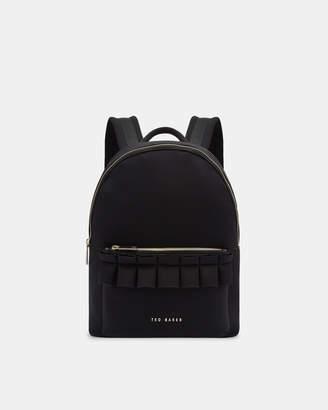 Ted Baker RRESSE Ruffle detail backpack