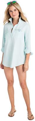 Vineyard Vines Deck Stripe Harbor Shirt Cover-Up