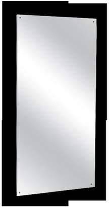 AJW U7018B-1830 Frameless Mirror, No. 8B Stainless Steel Surface - 18 W X 30 H In.