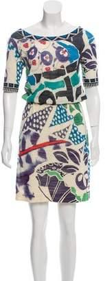Diane von Furstenberg Gobo Midi Dress