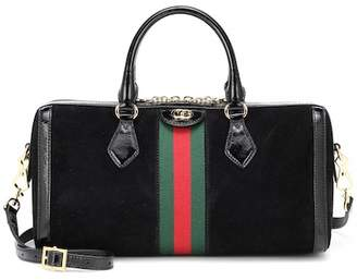 Gucci Ophidia Medium suede shoulder bag