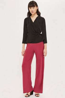 Topshop Womens **Abigail Wide Leg Trousers By Love