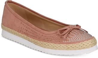 Callisto Pringle Slip-On Espadrille Flats Women's Shoes