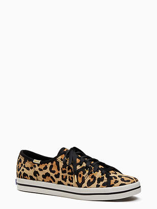 Kate Spade Keds x leopard-print sneakers