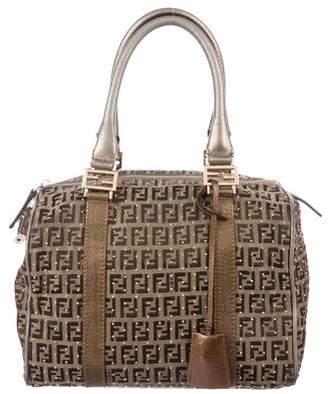 Fendi Embellished Boston Bag