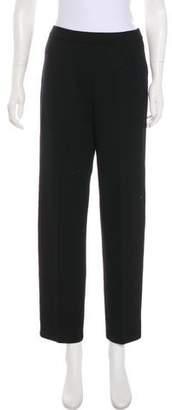 St. John High-Rise Straight-Leg Pants