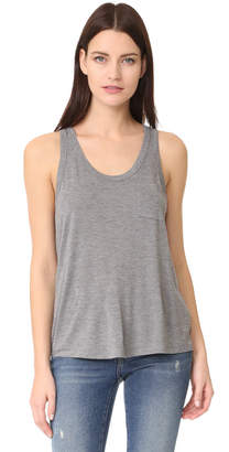 alexanderwang.t Classic Cropped Tank with Pocket