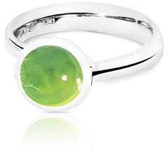 Tamara Comolli Bouton 8mm Peridot Cabochon Ring, Size 7/54