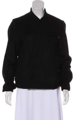 Kenzo Asymmetrical Wool-Blend Jacket w/ Tags