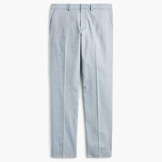 J.Crew Ludlow Slim-fit stretch chambray pant in herringbone
