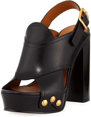 Chloé high chunky heel sanda