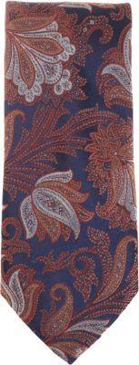 Barneys New York Floral Paisley Tie