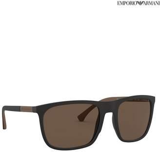 Mens Brown Lens Sunglasses - Brown
