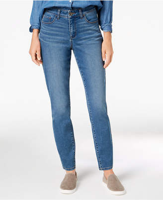 c53c8a936e53ef Style & Co Petite Curvy-Fit Skinny Jeans