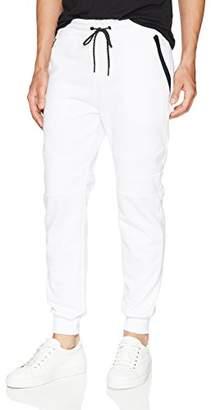 Southpole Men's Tech Fleece Jogger Pants With Zipper Details