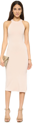 alice + olivia AIR Lumi Fitted Dress $286 thestylecure.com