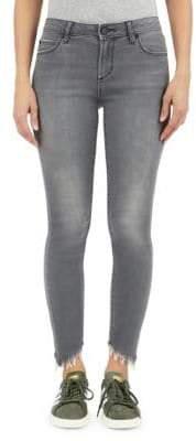 Articles of Society Sammy Nashville Diagonal Hem Skinny Jeans