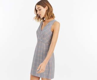 Oasis SHORT CHECK SHIFT DRESS