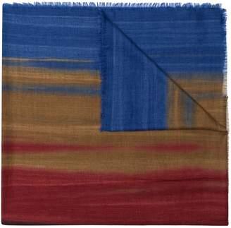 Ermenegildo Zegna colour blocked scarf
