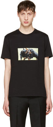 Givenchy Black Rottweiler T-Shirt $595 thestylecure.com