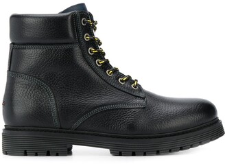 Tommy Jeans lace-up outdoor boots