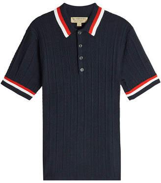 Burberry Wool Polo Shirt
