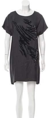 Maiyet Embellished Mini Shift Dress w/ Tags