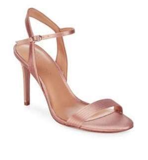 Halston Metallic Sandals