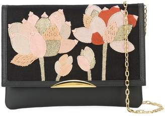 Lizzie Fortunato flower patch shoulder bag