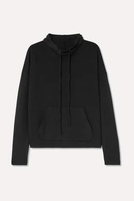 calé - Astrid Stretch-terry Sweatshirt - Black