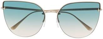 Tom Ford cat eye shaped sunglasses