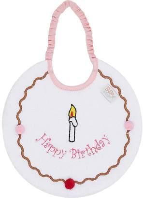 Zigozago Happy Birthday Bib