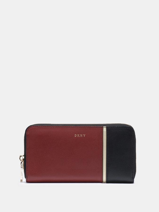 DKNYGreenwich Colorblock Large Zip Around Wallet