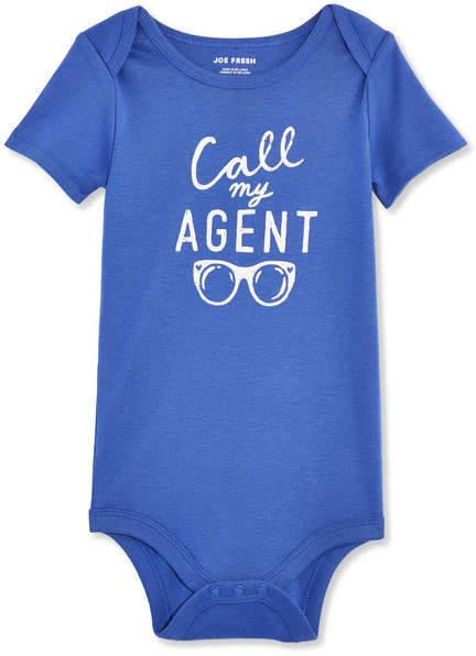 Joe Fresh Baby Girls' Short Sleeve Bodysuit