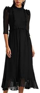 Laura Garcia Collection Women's Nicolette Swiss Dot Dress - Black