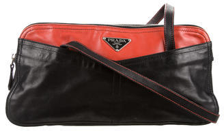 prada Prada Nappa Shoulder Bag