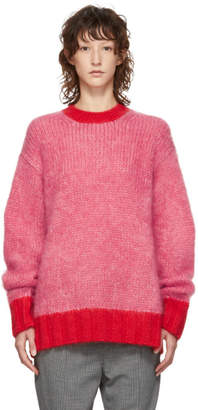 McQ Pink Mohair Sweater