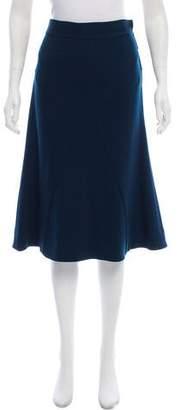 Diane von Furstenberg Wool A-Line Skirt