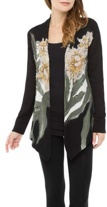 Adore Floral Ribbed Cardigan