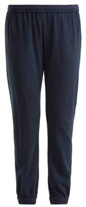 Skin - Savoy Cotton Track Pants - Womens - Indigo