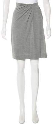 Yigal Azrouel Draped Knee-Length Skirt