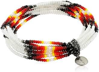 Chan Luu African Seed Bead Stretch Bracelet