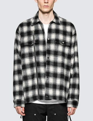 Stampd Asher Flannel Shirt Jacket