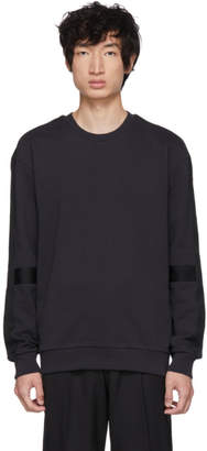 HUGO Navy Dunter Tape Sweatshirt