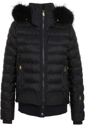 Bogner Muriel D Fur-Trimmed Shell Jacket